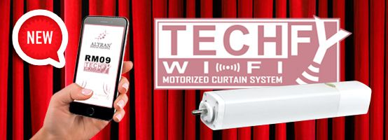 """TECHFY"", the future of the motorized curtains"